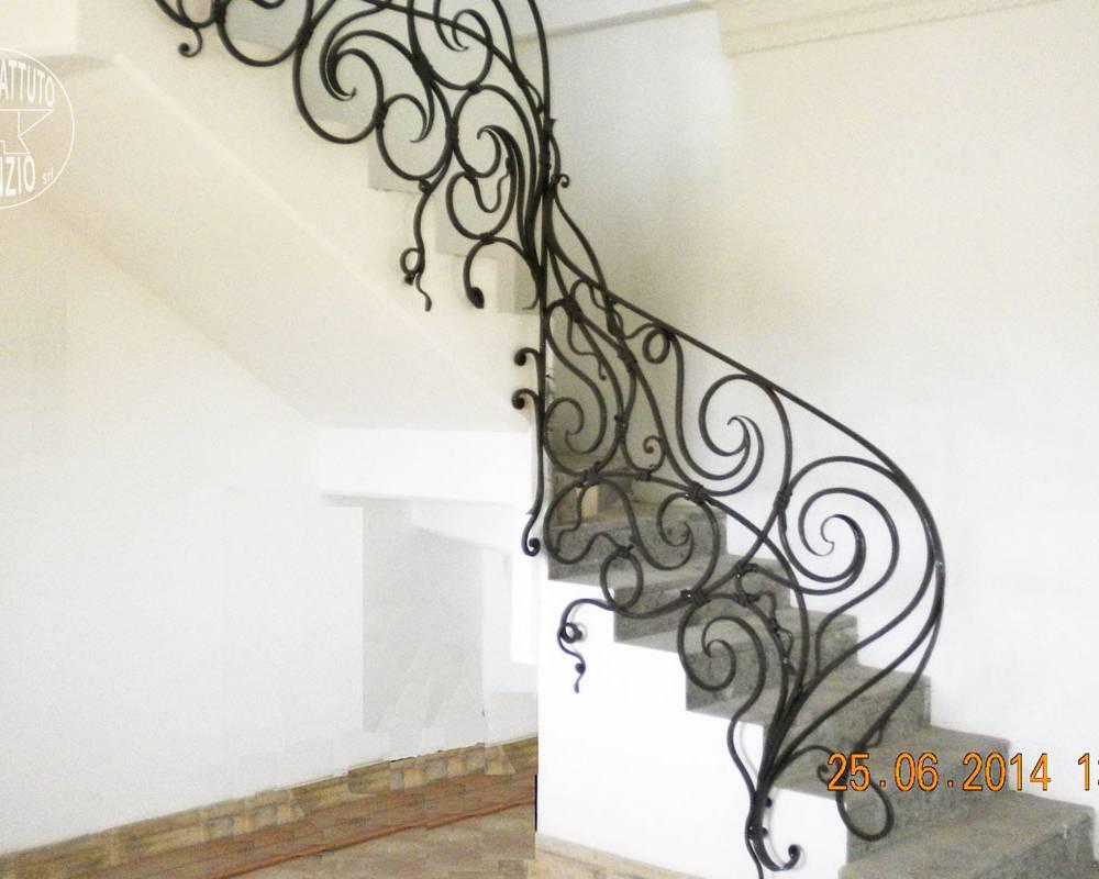 Rampes d\'intérieur: en fer - escaliers en fer forgé, garde-corps ...