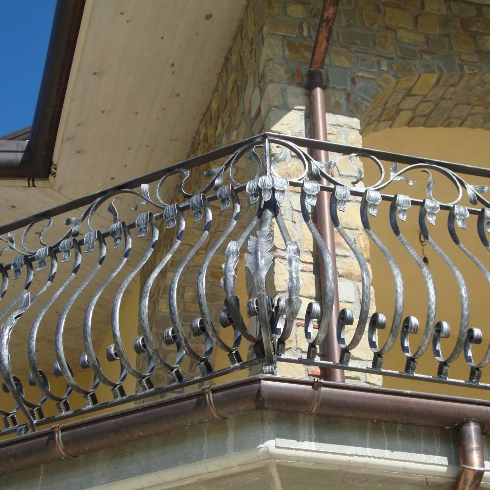 rampe en fer forg martel garde corps pour terrasse d. Black Bedroom Furniture Sets. Home Design Ideas