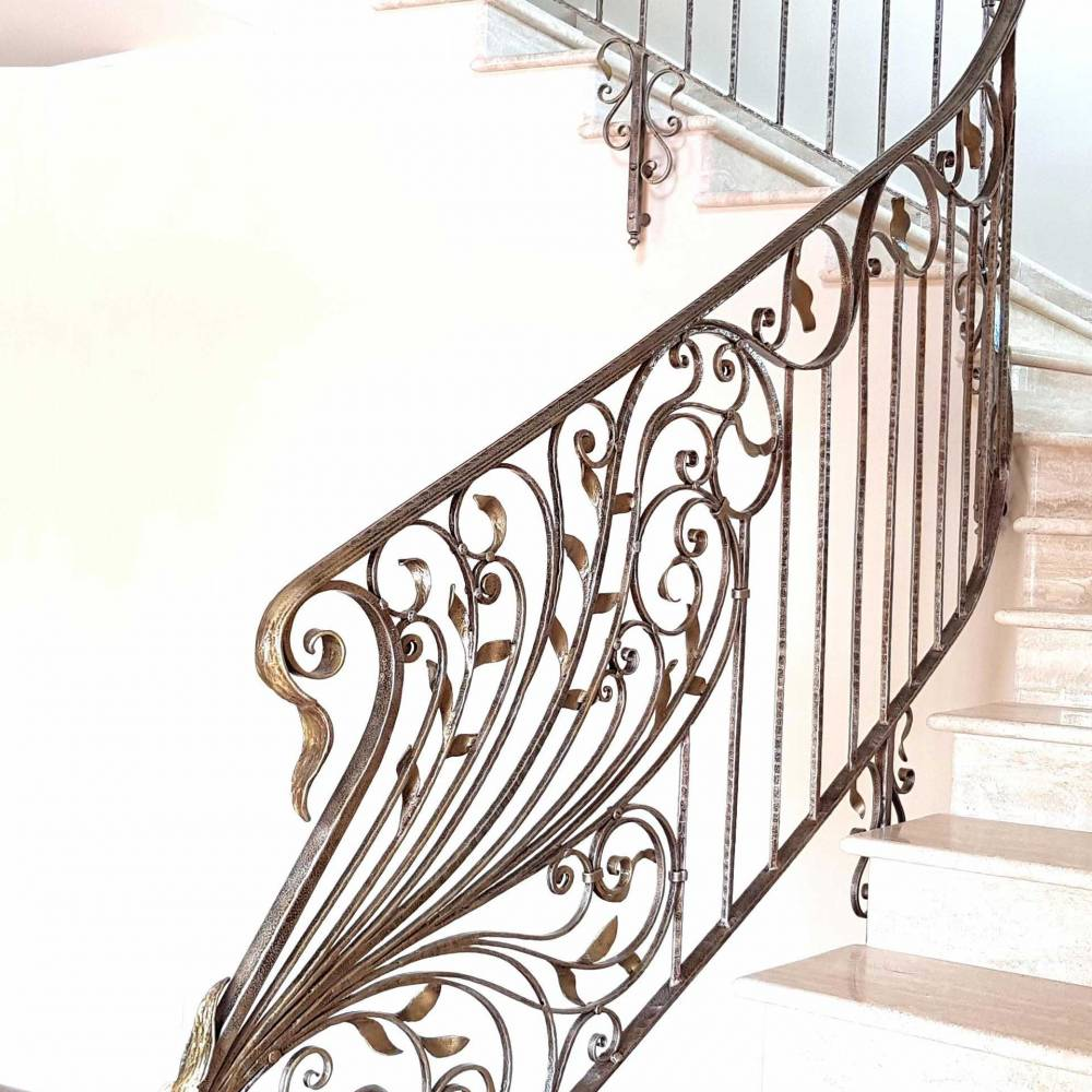 Rampes D Interieur En Fer Escaliers En Fer Forge Garde